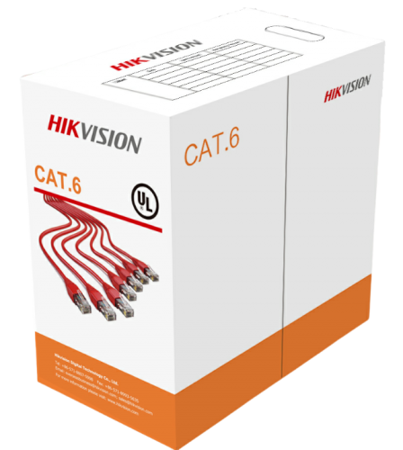 HIKVISION DS-1LU6-UU CAT6 UTP CABLE 305M