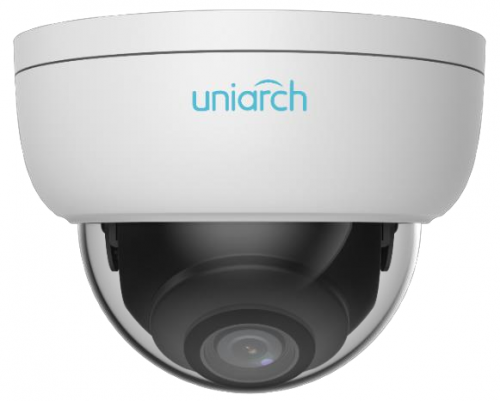 UNIARCH 4MP Vandal-resistant Network IR Fixed Dome Camera