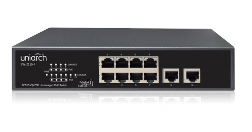 UNIARCH SW-2110-P 10-Port PoE Switch