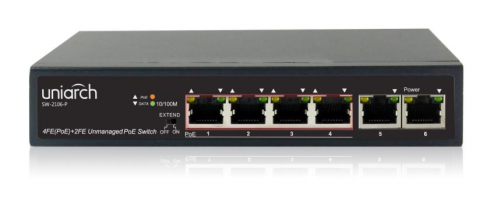 UNIARCH SW-2106-P 6-Port PoE Switch